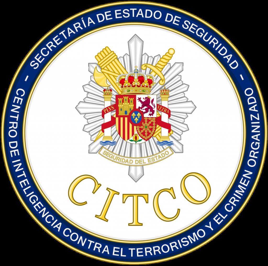 Logo del Centro de Inteligencia Contra el Terrorismo y el Crimen Organizado con fondo transparente.