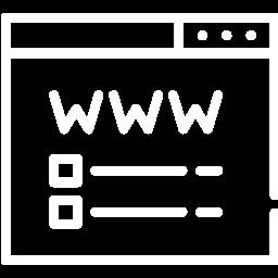 Parte de una página web en la que se ofrece un listado de diferentes servicios.