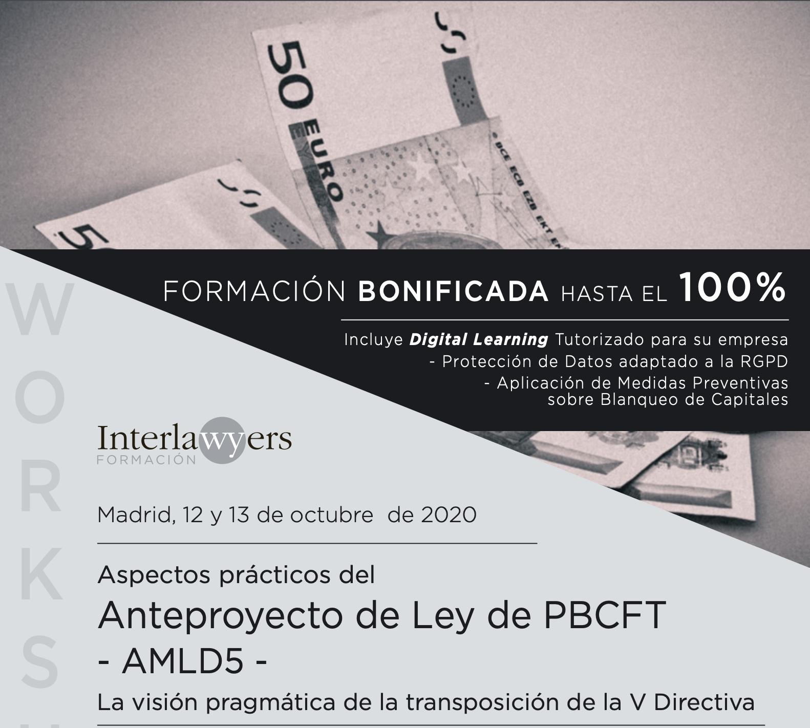 Flyer del evento Compliance en Madrid el 12 y 13 de Octubre