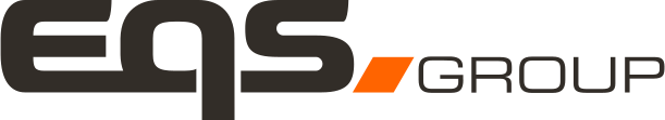 Logo de EQS Group Negro